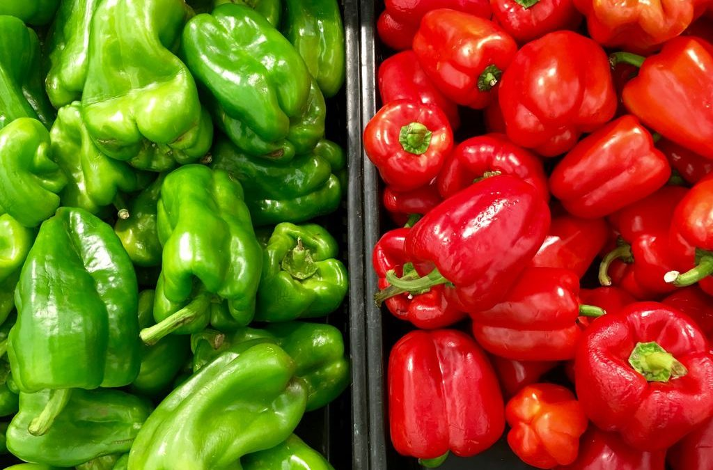 Peppers – from side dishes, through main courses, to marinades